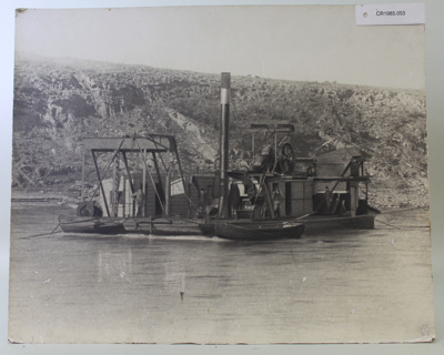 Photograph, Ngapara Dedge c. 1900; Unknown; Unknown; CR1985.053