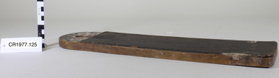 Knife cleaning board; Unknown maker; unknown; CR1977.125