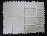 Tray cloth; Unknown maker; Unknown; CR2015.009.57