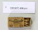 Matchbox; Bryant & May's; Unknown; CR1977.438
