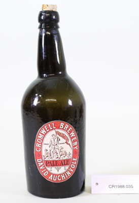 Beer bottle; Cromwell Brewery Co.; Unknown; CR1988.035