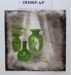Art print, Annemarie Hope-Cross, McNulty Glass and Kowhai; Annemarie Hope-Cross; 2020; CR2020.045