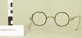 Two pairs of spectacles and a case; Peter Dick, Consulting Optometrist; Unknown maker; Unknown; CR2013.310