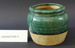Chinese green glazed pottery jar.; Unknown maker; Unknown; CR2020.042.4