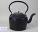 Kettle, black iron; Archibald Kenrick & Sons Ltd,  West Bromwich, England; CR1977.216