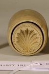Butter mold; Unknown maker; Unknown; CR1977.191