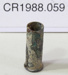 Cartridge case; Unknown maker; Unknown; CR1988.059