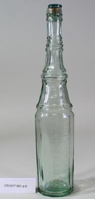 Tall Champion's vinegar bottle; Unknown; Unknown; CR1977.061