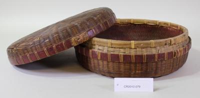 Basket; Unknown maker; Unknown; CR2012.079
