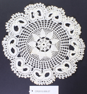 Doily; Unknown maker; Unknown; CR2015.009.27
