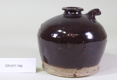 Sauce pot; Unknown maker; Unknown; CR1977.766