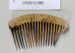 Chinese hair comb; Unknown maker; Unknown; CR2012.080
