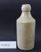 Stoneware ginger beer bottle; Unknown maker; Unknown; CR1988.005