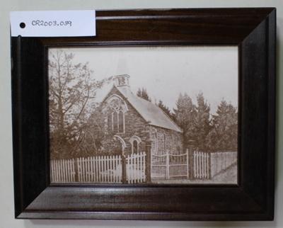 Photograph, Cromwell Presbyterian Church; Unknown; Unkown; CR2003.039