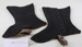 Gaiters (2); Unknown maker; Unknown; CR1977.627