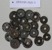 Chinese coins (21) ; Unknown maker; Unknown; CR2020.042.11