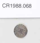 Coin; Unknown maker; Unknown; CR1988.068