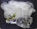 Wedding veil and headress; Unknown; Unknown; CR2016.019.12