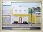 Cromwell Pharmacy 1965 - 1985 - painting.; Unknown maker; CR2005.181