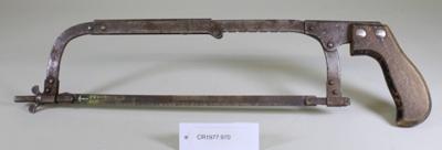 Hacksaw; Unknown maker; Unknown; CR1977.970