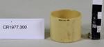 Serviette ring; Unknown maker; unknown; CR1977.300