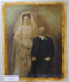 Photograph, unknown wedding couple.; Unknown; Unknown; CR1985.060