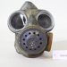 Canvas gas mask carry bag; Unknown maker; CR2018.047.5