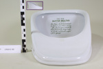 Bed pan; Unknown maker; Unknown; CR2012.182