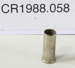 Cartridge case; Unknown maker; Unknown; CR1988.058