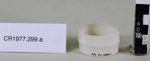 Serviette rings (2); Unknown maker; Unknown; CR1977.299