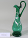 Victorian green glass jug; Unknown maker; Unknown; CR2008.008.51