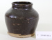 Chinese glazed vegetable container with lid; Unknown maker; Unknown; CR1987.003