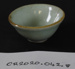 Chinese porcelain small dish; Unknown maker; Unknown; CR2020.042.8