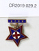 New Zealand registered nurse badge; Mayer & Kean Ltd.; C 1931; CR2019.029.2