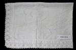 White linen cloth; Unknown maker; Unknown; CR2015.009.24