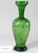 Victorian green glass vase; Unknown maker; Unknown; CR2008.008.42