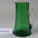 Victorian green glass jug; Unknown maker; Unknown; CR2008.008.48
