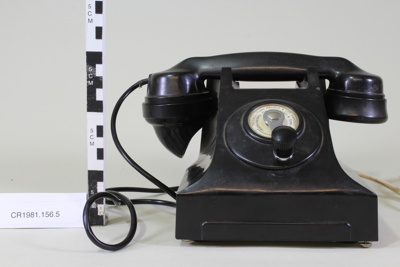 Telephone; Unknown maker; Unknown; CR1981.156.5