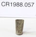 Cartridge case; Unknown maker; Unknown; CR1988.057
