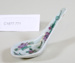 Chinese porcelain spoon; Unknown maker; Unknown; CR1977.771