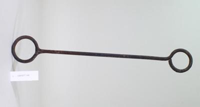 Bottle iron; Unknown maker; Unknown; CR1977.142
