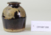 Small Chinese dried vegetable container; Unknown maker; Unknown; CR1987.006