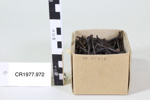 Box of nails; Unknown maker; Unknown; CR1977.972