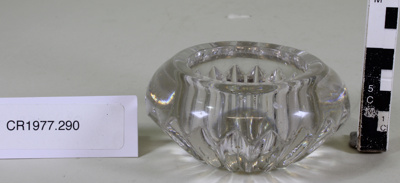 Salt cellar; Unknown maker; Unknown; CR1977.290