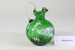 Victorian green glass jug; Unknown maker; Unknown; CR2008.008.6