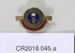 W.D.F.F.N.Z. badges (2); Unknown maker; Unknown; CR2018.045