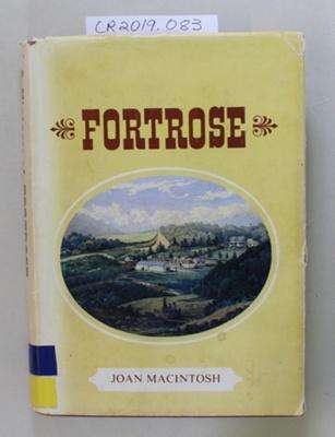 Book, FORTROSE; Joan MacIntosh; 1975; CR2019.083