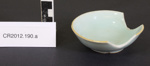 Chinese dishes (3) & spoon; Unknown; China; CR2012.190
