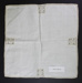 Linen napkin or tray cloth; Unknown maker; Unknown; CR2015.009.42