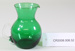 Victorian green glass jug; Unknown maker; Unknown; CR2008.008.52